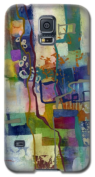 Galaxy S5 Case featuring the painting Vintage Atelier by Hailey E Herrera