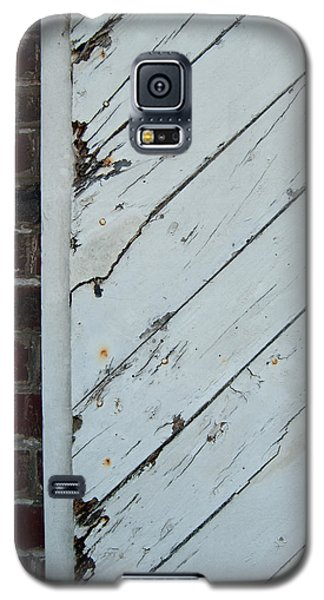 Vintage Barn Door And Red Brick Galaxy S5 Case