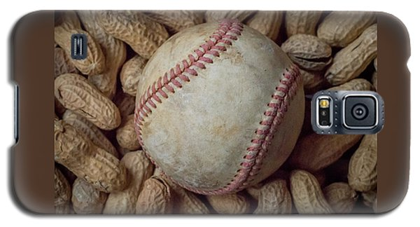 Vintage Baseball And Peanuts Square Galaxy S5 Case
