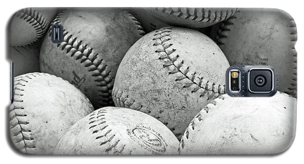 Galaxy S5 Case featuring the photograph Vintage Baseballs by Brooke T Ryan
