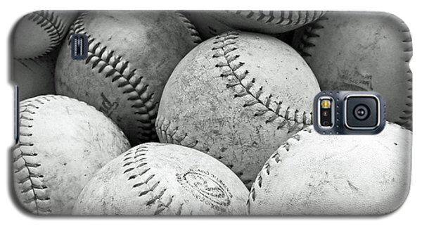 Vintage Baseballs Galaxy S5 Case by Brooke T Ryan