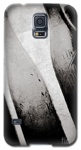 Galaxy S5 Case featuring the photograph Vintage Beer Bottles. by Andrey  Godyaykin