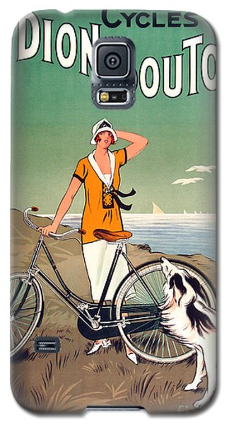 Bicycle Galaxy S5 Case - Vintage Bicycle Advertising by Mindy Sommers