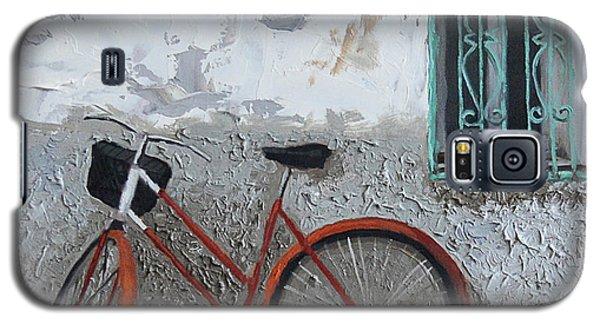 Vintage Series #3 Bike Galaxy S5 Case