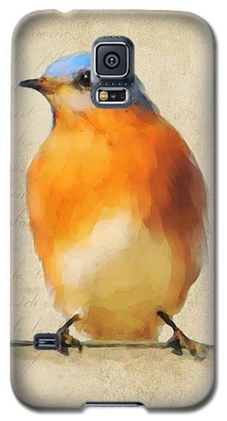 Vintage Bluebird Galaxy S5 Case