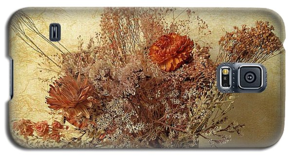 Galaxy S5 Case featuring the photograph Vintage Bouquet by Jessica Jenney