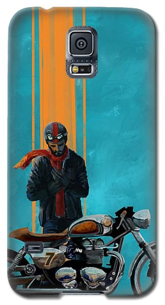 Motorcycle Galaxy S5 Case - Vintage Cafe Racer  by Sassan Filsoof