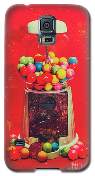 Vintage Candy Store Gum Ball Machine Galaxy S5 Case