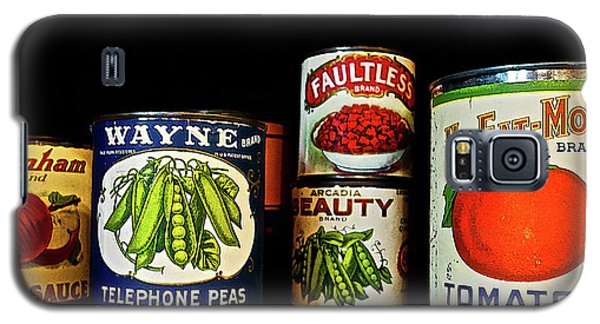 Vintage Canned Vegetables Galaxy S5 Case
