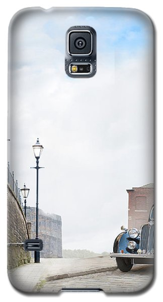 Vintage Car Parked On The Street Galaxy S5 Case