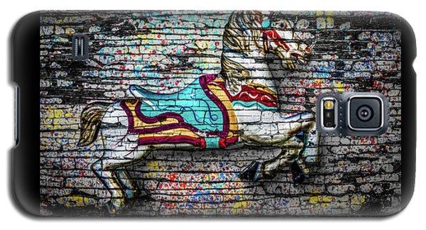 Vintage Carousel Horse Galaxy S5 Case