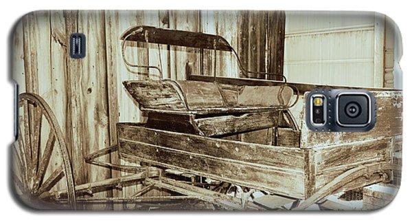 Vintage Carriage Galaxy S5 Case