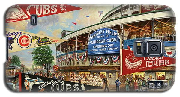 Vintage Chicago Cubs Galaxy S5 Case by Steven Parker