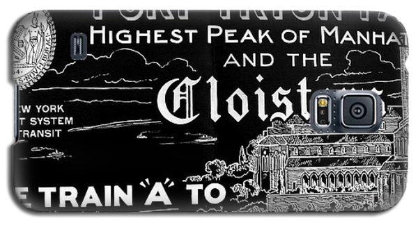 Vintage Cloisters And Fort Tryon Park Poster Galaxy S5 Case