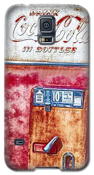 Vintage Coca-cola Machine 10 Cents Galaxy S5 Case