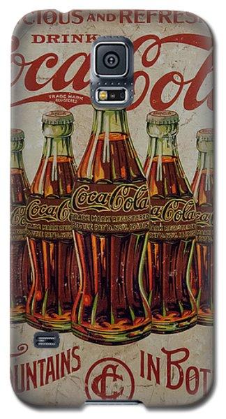 vintage Coca Cola sign Galaxy S5 Case