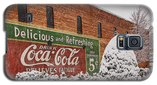 Vintage Coca Cola Sign New Albany Mississippi Galaxy S5 Case