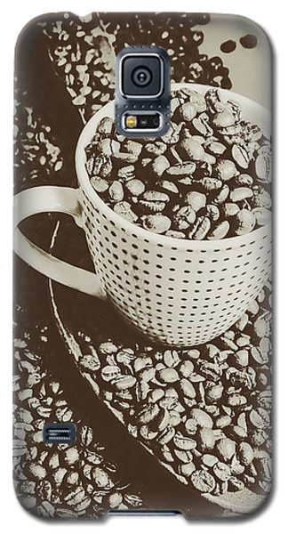 Vintage Coffee Art. Stimulant Galaxy S5 Case by Jorgo Photography - Wall Art Gallery