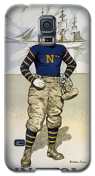 Vintage College Football Annapolis Galaxy S5 Case by Pd