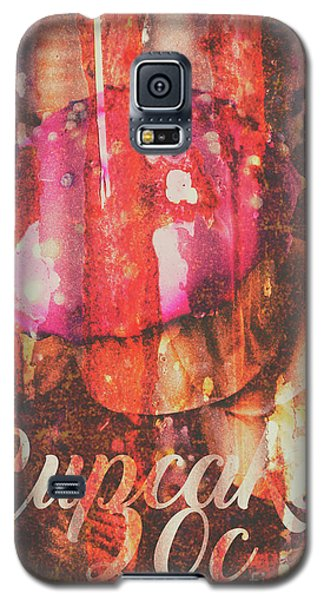 Fairy Galaxy S5 Case - Vintage Cupcake Tin Sign by Jorgo Photography - Wall Art Gallery
