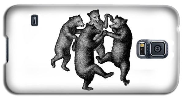 Vintage Dancing Bears Galaxy S5 Case by Edward Fielding