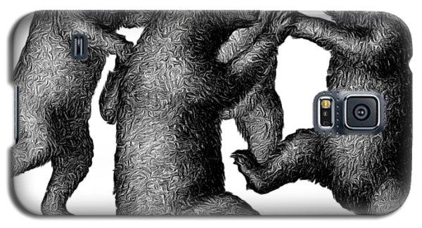 Vintage Dancing Bears Galaxy S5 Case