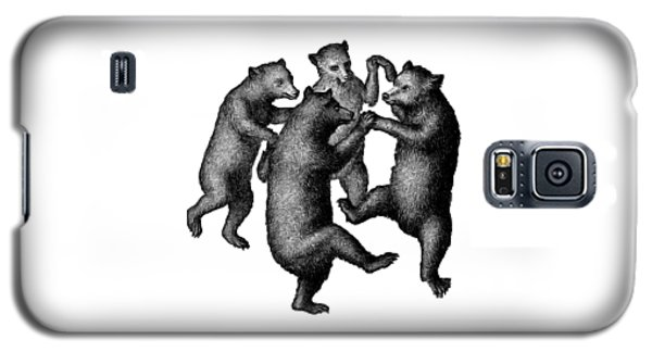 Vintage Dancing Bears Galaxy S5 Case