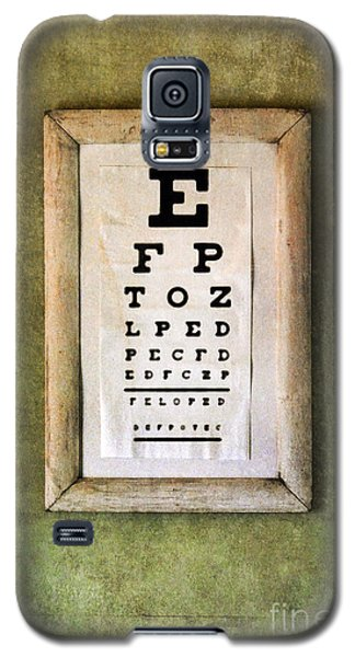 Vintage Eye Chart Galaxy S5 Case