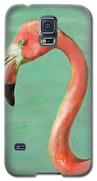 Vintage Flamingo Galaxy S5 Case by Jane Schnetlage