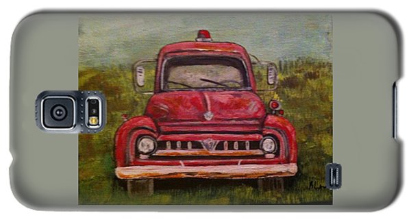 Vintage  Ford Fire Truck Galaxy S5 Case