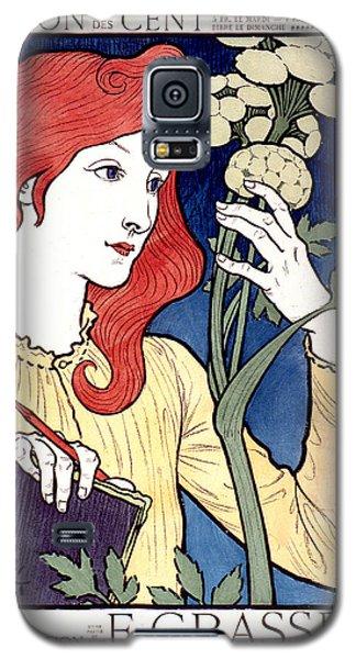 Vintage French Advertising Art Nouveau Salon Des Cent Galaxy S5 Case