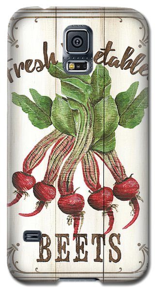 Galaxy S5 Case featuring the painting Vintage Fresh Vegetables 1 by Debbie DeWitt