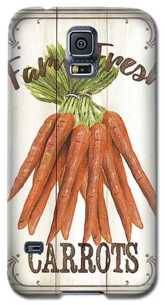 Vintage Fresh Vegetables 3 Galaxy S5 Case by Debbie DeWitt