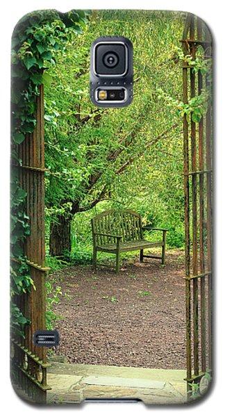 Vintage Garden Galaxy S5 Case