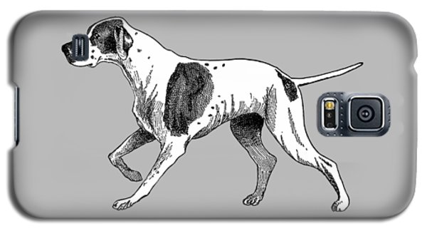 Vintage German Shorthaired Pointer Galaxy S5 Case by Marian Cates