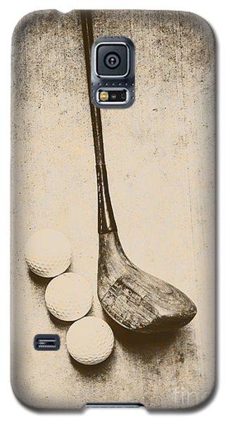 Vintage Golf Artwork Galaxy S5 Case