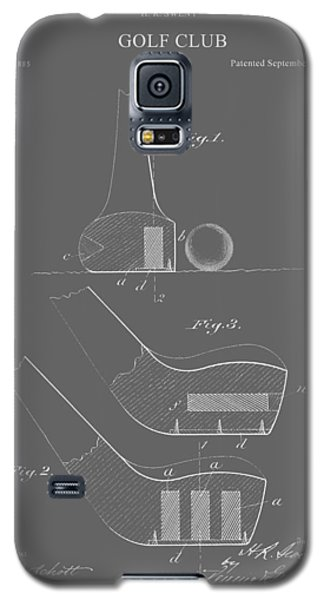 Vintage Golf Club Patent Galaxy S5 Case