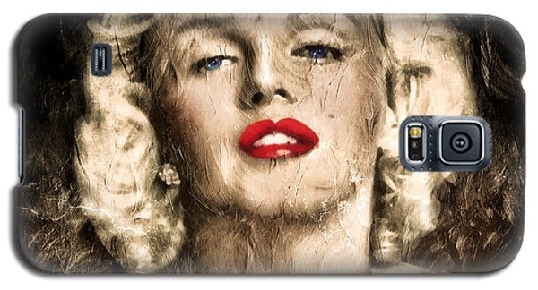 Vintage Grunge Goddess Marilyn Monroe  Galaxy S5 Case