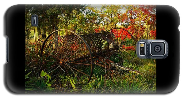 Vintage Hay Rake Galaxy S5 Case by Chris Berry