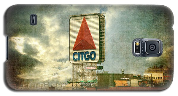 Vintage Kenmore Square Citgo Sign - Boston Red Sox Galaxy S5 Case by Joann Vitali
