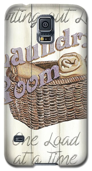 Galaxy S5 Case featuring the painting Vintage Laundry Room 2 by Debbie DeWitt