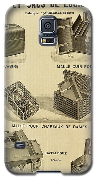 Vintage Louis Vuitton Advertisement - 1898 Galaxy S5 Case