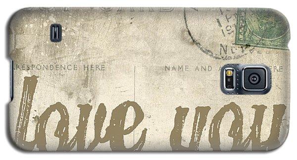 Vintage Love Letters Galaxy S5 Case