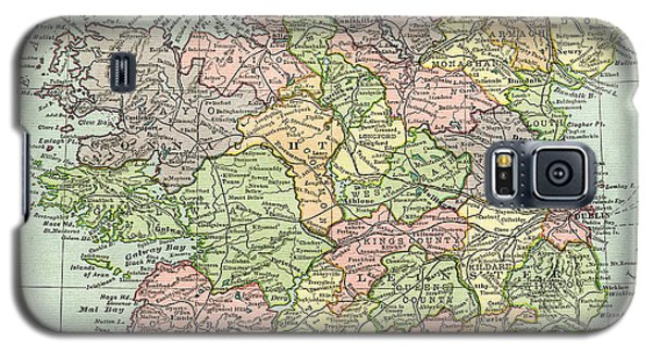 Vintage Map Ireland Galaxy S5 Case