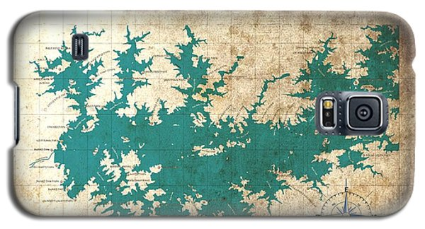 Vintage Map - Sidney Lanier Ga Galaxy S5 Case