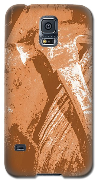 Vintage Miners Hammer Artwork Galaxy S5 Case