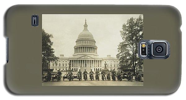 Vintage Motorcycle Police - Washington Dc  Galaxy S5 Case