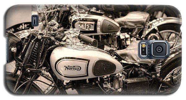 Vintage Motorcycles Galaxy S5 Case