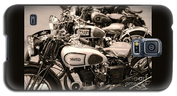 Vintage Motorcycles Galaxy S5 Case by Ari Salmela