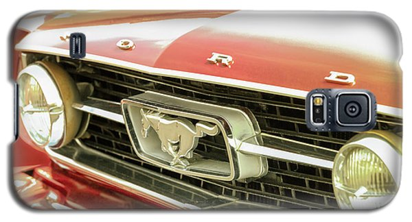 Galaxy S5 Case featuring the photograph Vintage Mustang by Caitlyn Grasso